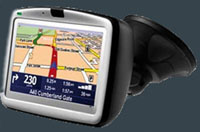 GPS Navigation for cars rented